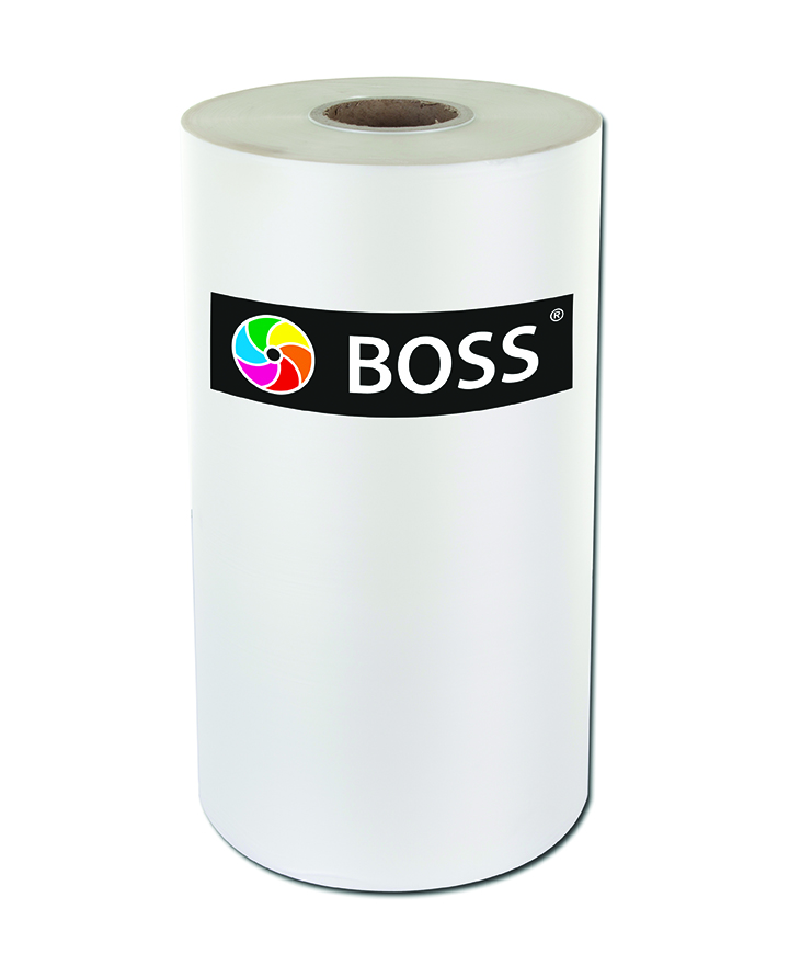 boss single sided opp laminator film 300dpi cmyk